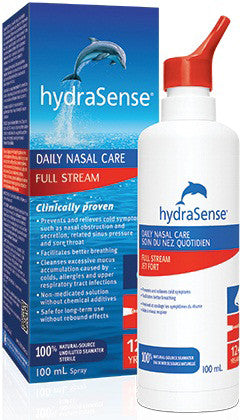 HYDRASENSE FULL STREAM 100ML - Queensborough Community Pharmacy