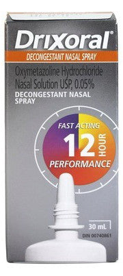 DRIXORAL DECONG NASAL SPRAY 30ML - Queensborough Community Pharmacy
