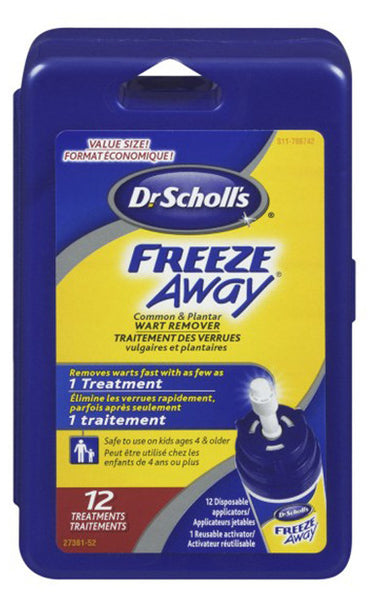 SCHOLL FREEZE AWAY WART REMOVER 1'S - Queensborough Community Pharmacy