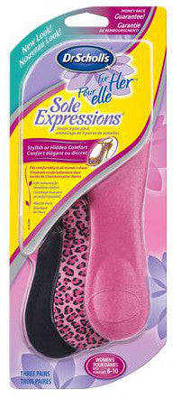 SCHOLL SOLE EXPRESSIONS 3-PACK 3PR - Queensborough Community Pharmacy