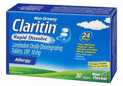 CLARITIN RAPID DISSOLVE TABS 30'S - Queensborough Community Pharmacy