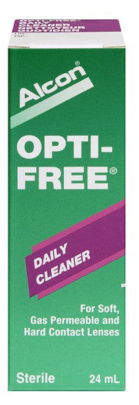 OPTI-FREE DAILY CLEANER 24ML - Queensborough Community Pharmacy