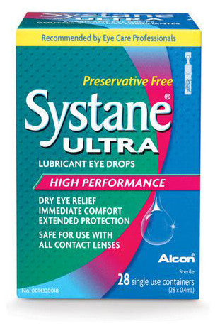 SYSTANE ULTRA PRESERVATIVE FREE 28'S - Queensborough Community Pharmacy