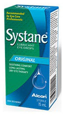 SYSTANE LUBRICANT EYE DROPS 15ML - Queensborough Community Pharmacy