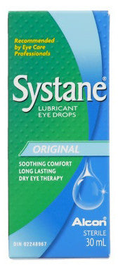 SYSTANE LUBRICANT EYE DROPS 30ML - Queensborough Community Pharmacy