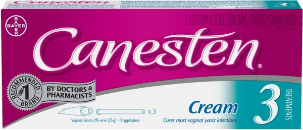 CANESTEN 3 DAY THERAPY 25G - Queensborough Community Pharmacy