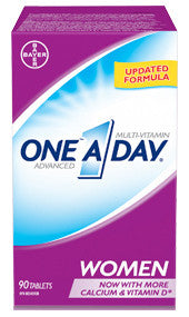 ONE A/DAY ADVANCE FEM 90'S - Queensborough Community Pharmacy