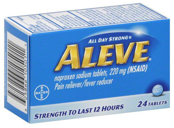 ALEVE 220MG 24'S - Queensborough Community Pharmacy