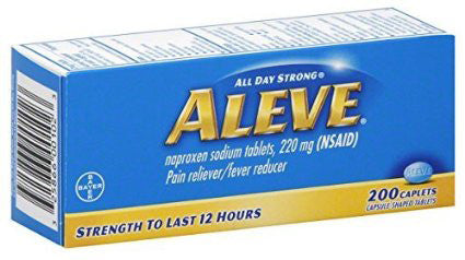 ALEVE 220MG CAPLET 200'S - Queensborough Community Pharmacy