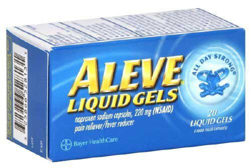 ALEVE LIQUID GEL 20'S - Queensborough Community Pharmacy