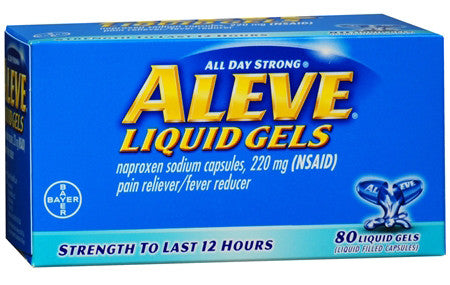 ALEVE LIQUID GEL 80'S - Queensborough Community Pharmacy