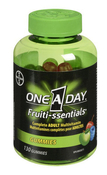 ONE A DAY FRUITI-SSENTIAL 130'S - Queensborough Community Pharmacy