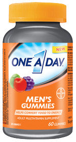 ONE A DAY MEN'S GUMMIES 60'S - Queensborough Community Pharmacy