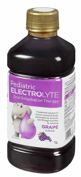 PEDIATRIC ELECTROLYTE-GRAPE 1L - Queensborough Community Pharmacy
