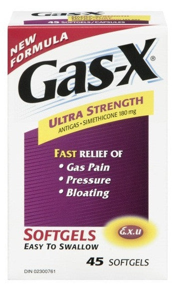 GAS-X ULTRA SOFTGELS 45'S - Queensborough Community Pharmacy