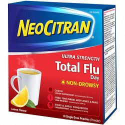 NEO CITRAN ULTRASTRENGTH TOTAL FLU DAY 10'S - Queensborough Community Pharmacy