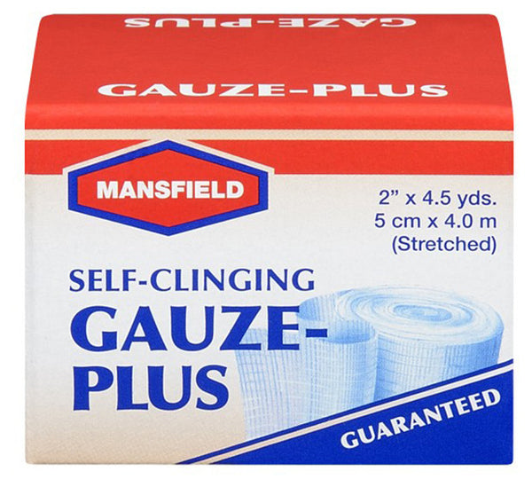 MANSFIELD SELF-CLING 2'X5YDS GAUZE ROLL 14'S - Queensborough Community Pharmacy