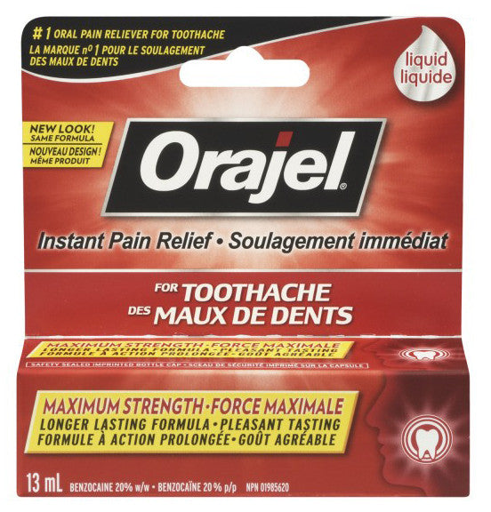 ORAJEL LIQUID 13ML - Queensborough Community Pharmacy