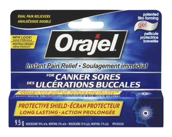 ORAJEL ULT CANKER SORE MEDICINE 9.5G - Queensborough Community Pharmacy