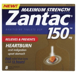 ZANTAC X-STR 150MG 8'S - Queensborough Community Pharmacy