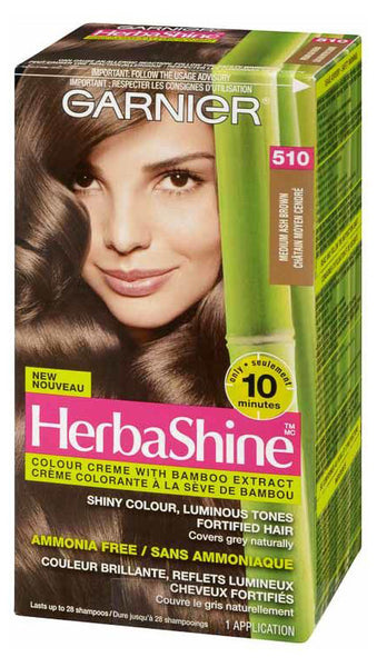 GARNIER HERBASHINE MED ASH BRWN #510 - Queensborough Community Pharmacy
