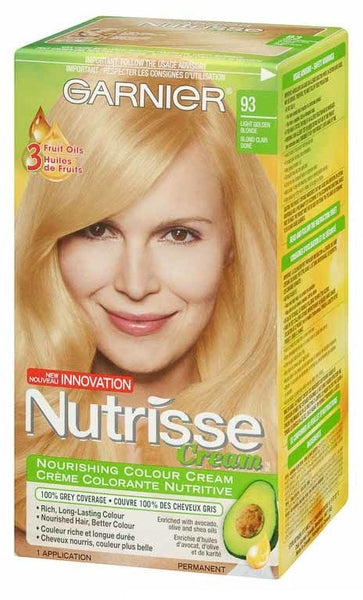 GARNIER NUTRISSE CREAM LT GLD BLOND#93 - Queensborough Community Pharmacy