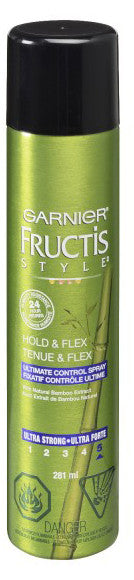 FRUCTIS STYLE ULT STRONG SPRAY FLEXAND HOLD 281ML - Queensborough Community Pharmacy