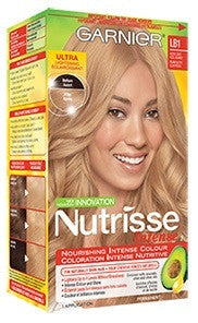 GARNIER NUTRISSE INTENSE ULTRA LIGHT COOL BLONDE LB1 1'S - Queensborough Community Pharmacy