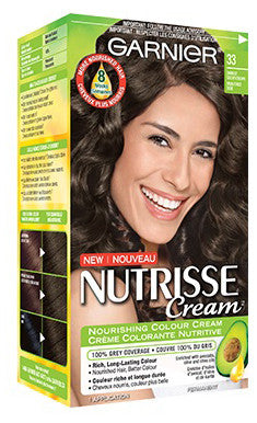 GAR NUT CR DARKEST GOLDN BRN #33 GARNIER NUTRISSE 1'S - Queensborough Community Pharmacy