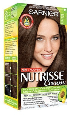 GARNIER NTS CREAM BRONZE BROWN NUTRISSE #413 1'S - Queensborough Community Pharmacy