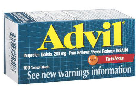 ADVIL TABS 200MG 100'S - Queensborough Community Pharmacy
