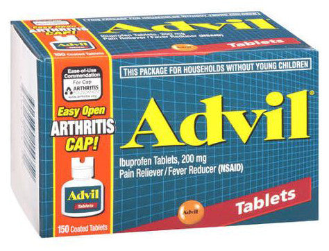 ADVIL TABS 200MG 150'S - Queensborough Community Pharmacy