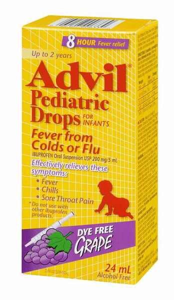 ADVIL PEDIATRIC DROPS GRAPE 24ML - Queensborough Community Pharmacy