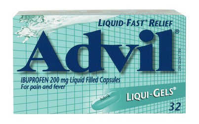 ADVIL LIQUI-GELS 32'S - Queensborough Community Pharmacy