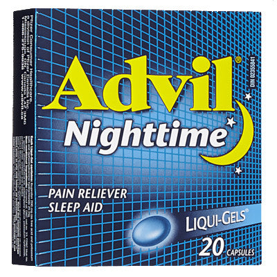 ADVIL NIGHTTIME LIQUI-GELS 20'S - Queensborough Community Pharmacy