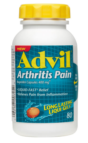 ADVIL ARTHRITIS 400MG 80'S - Queensborough Community Pharmacy