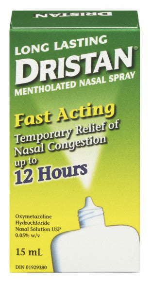 DRISTAN L.L. MENTHOL SPRAY 15ML - Queensborough Community Pharmacy