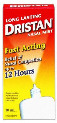 DRISTAN NASAL MIST 30ML - Queensborough Community Pharmacy
