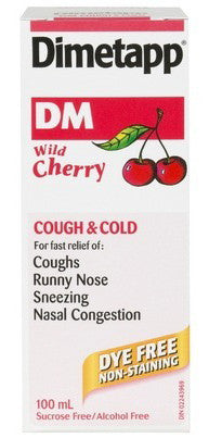 DIMETAPP DM DYE FREE 100ML - Queensborough Community Pharmacy