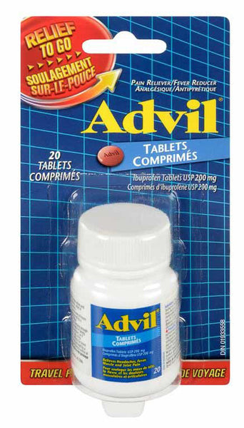 ADVIL TABLETS RELIEF TO GO 20'S - Queensborough Community Pharmacy