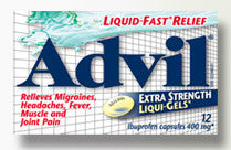 ADVIL LIQUI-GELS RELIEF TO GO 12'S - Queensborough Community Pharmacy