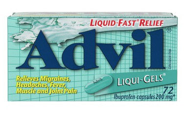 ADVIL LIQUI-GELS 72's - Queensborough Community Pharmacy