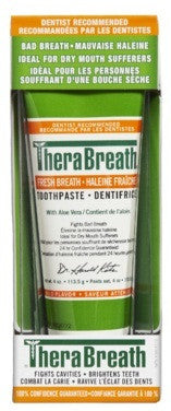 THERA BREATH TOOTHPASTE 113.5G - Queensborough Community Pharmacy