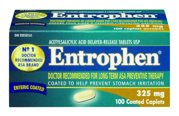 ENTROPHEN CPLT 325MG 100'S - Queensborough Community Pharmacy