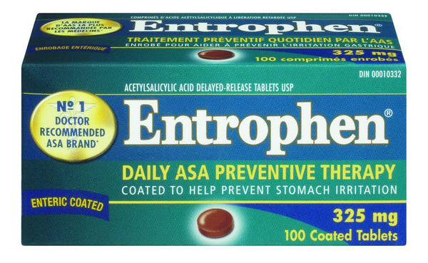 ENTROPHEN TABS 325MG 100'S - Queensborough Community Pharmacy