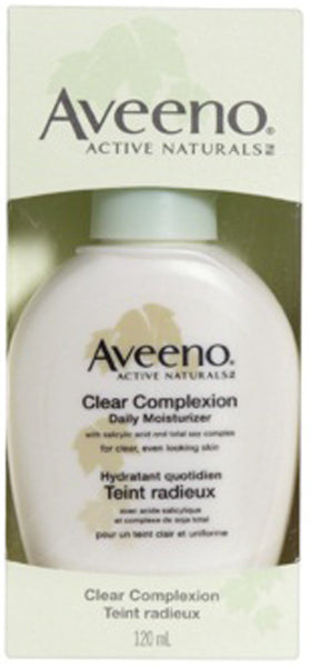 AVEENO CLEAR COMPLEXION DAILY MOISTURIZER 120ML - Queensborough Community Pharmacy