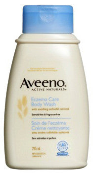 AVEENO ECZEMA CARE BODY WASH 295ML - Queensborough Community Pharmacy