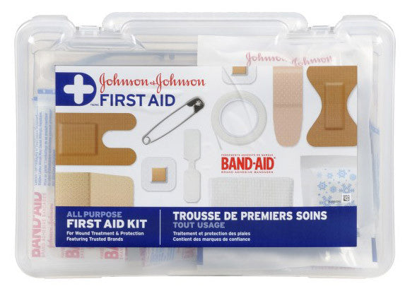 J&J FIRST AID KIT 1'S - Queensborough Community Pharmacy