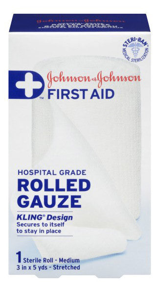 J&J KLING GAUZE BANDAGE 7.5CMX4.5M - Queensborough Community Pharmacy