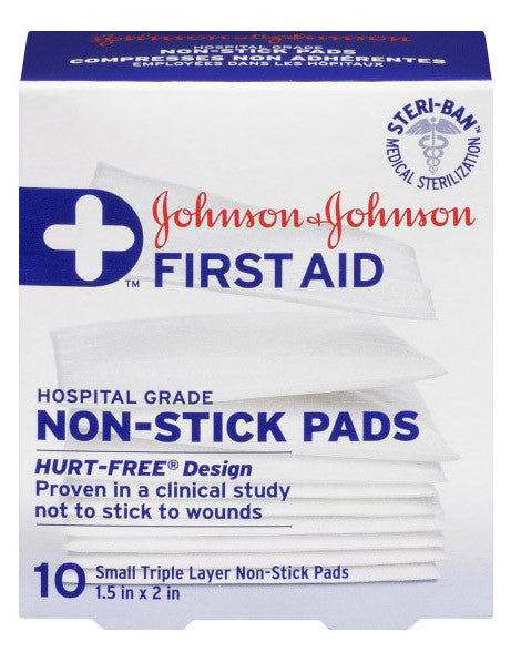 J&J EASY RELEASE PADS 3.75CMX5CM - Queensborough Community Pharmacy